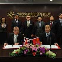Atkins strengthens global strategic cooperation with CCCC and CHEC