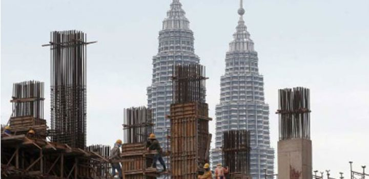 Malaysian Construction sector records over US$7,bn in value in Q2