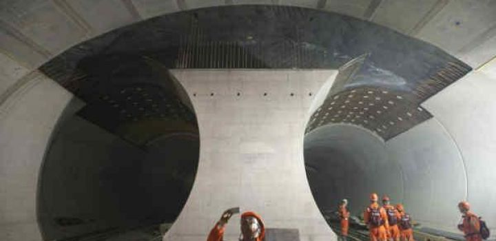 China finishes construction of tunnel link to Pakistan, plans new record breaking tunnel