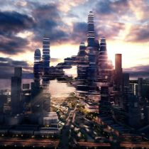 Shenzen Considers Cloud Shaped Skyscraper