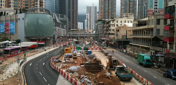 Road works eyed for central district