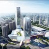 Atkins reveales design for Cadre International TOD Center in Guangzhou.