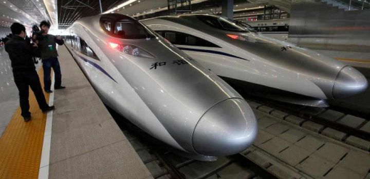China's railway giant begins to flex muscles overseas