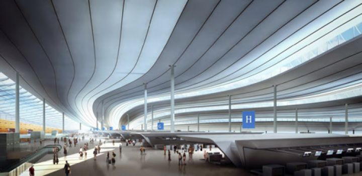 New Beijing Airport in The Works