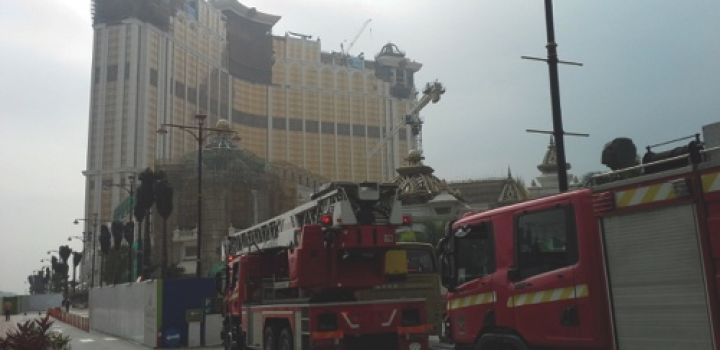 Galaxy tower catches fire, 6,000 workers evacuated