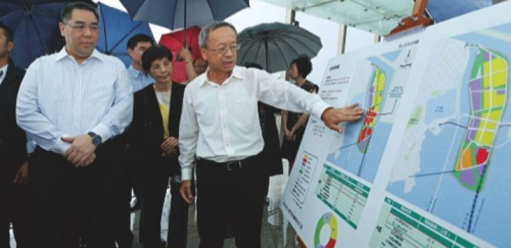 Macau Chief Exec urges speedy completion of Zone A construction project