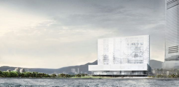 Construction starts on Hong Kong's M+ Museum
