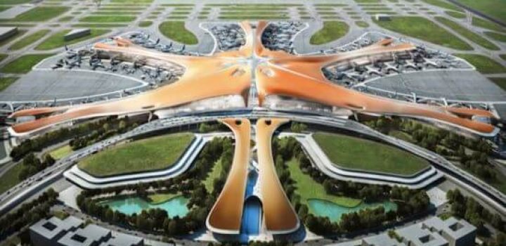 Concept design released for world's largest airport terminal in Beijing