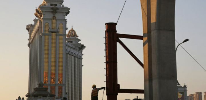 worker falls to his death at Galaxy Macau site