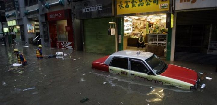 Hong Kong Flood prevention works primed