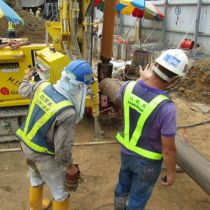 New drilling method adopted by water supplies Department