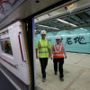 MTR Repairs on line at water-effected stations