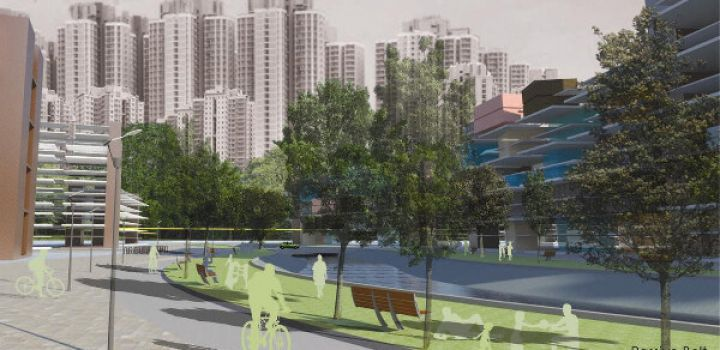 Latest proposals for Hung Shui Kiu new town