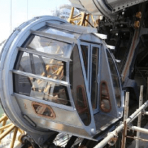 WORLD'S FIRST FIGURE- 8 FERRIS WHEEL NEARS COMPLETION AT STUDIO CITY