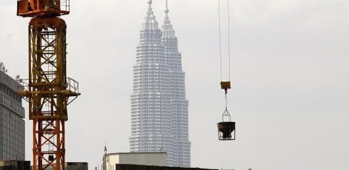 A declining trend in Malaysia's construction industry
