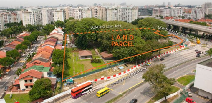 URA to launch the tender for the Reserve List site at Lorong Lew Lian
