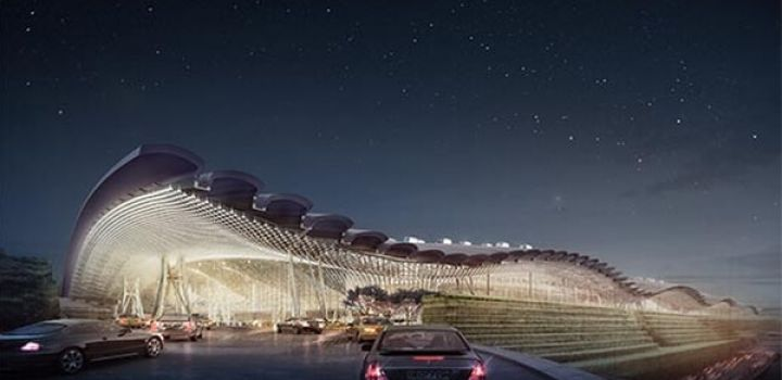 RSHP beats out Foster to design new T3 at Taiwan International Airport.