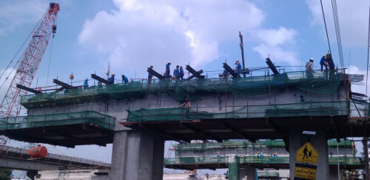 Japanese firms to construct elevated rail in Bangkok