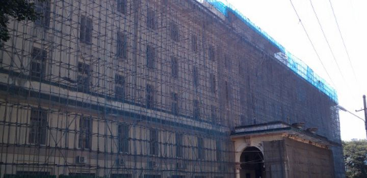Rebirth of Yangon building points way for city's crumbling heritage