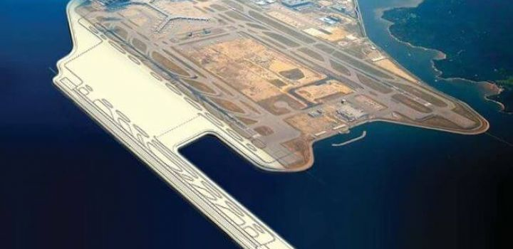 Samsung C&T Bags Deep Cement Mixing Works for Hong Kong Three Runway System Project
