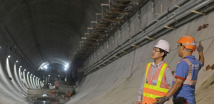 longest road tunnel in Hong Kong to be finished by years end