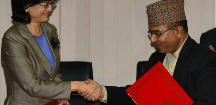 Nepal signs up to China's new Silk Road plan