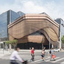 Video: Moving facade at the new Bund Finance Center in Shanghai