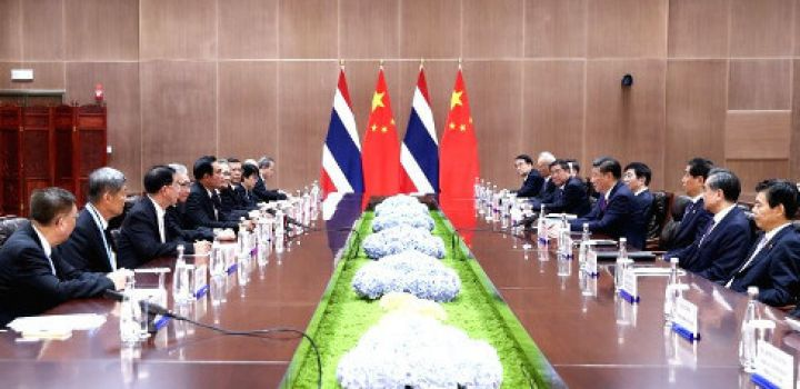 Thailand finally pens deal with Chinese for construction of high-speed railway to China