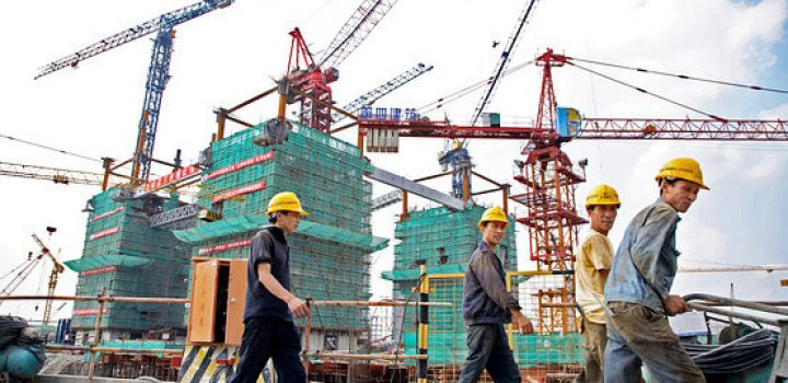 Slower property, construction growth drag on China Q3 GDP but services pick up