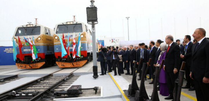 'Shortest Asia-Europe rail link' launched in Azerbaijan