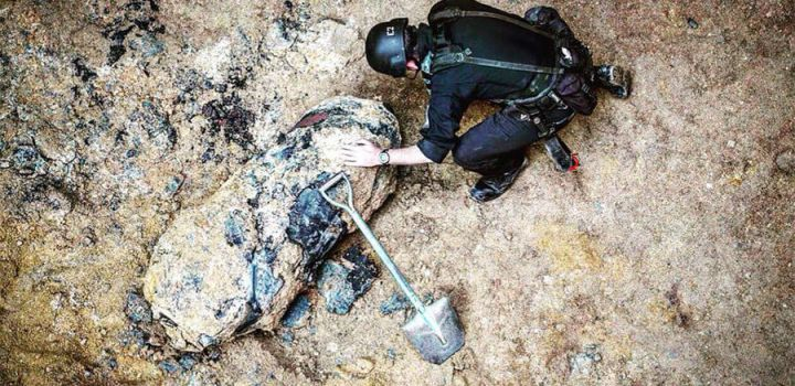 WWII bomb found at construction site in Hong Kong