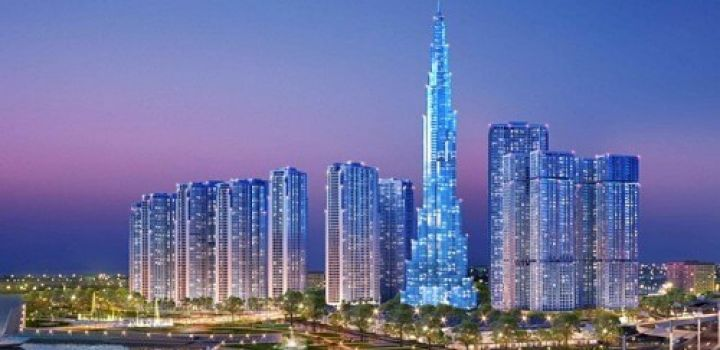 Mace tops out record-breaking Vietnam tower