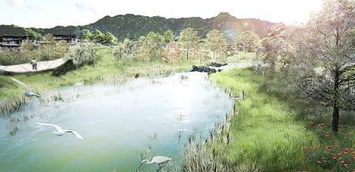 Taipei begins second phase of wetland park