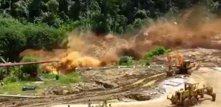At least 26 dead, 131 missing after Laos dam collapse