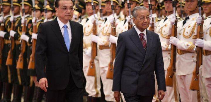 Malaysia confirms scrapping of three Chinese projects