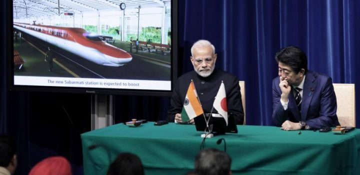 Modi and Abe agree to boost ties as Tokyo pledges huge new yen loans for India