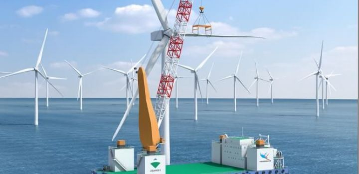 Obayashi, Toa to construct platform for building large-scale offshore wind power plant