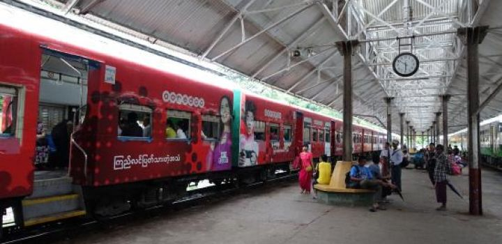 Myanmar Parliament Approves Loan from China for Purchase of Chinese Trains