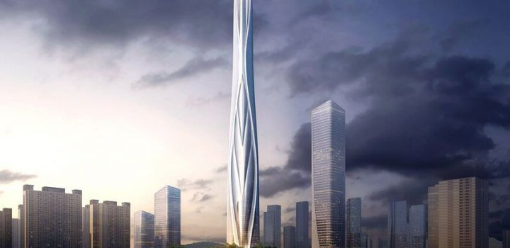Adrian Smith, Gordon Gill bag 700m tower in China