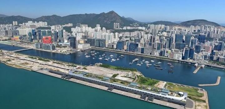 Wheelock wins runway Kai Tak site