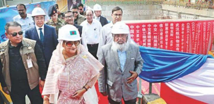 Chinese Company begins $1.6bn Chittagong road tunnel in Bangladesh