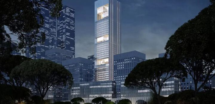 German firm wins competition to design tower complex in Shenzhen