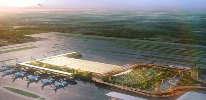 "SOM Unveils ""garden terminal"" for Bangalore's Kempegowda Int Airport"
