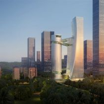 Steven Holl Architects designs iCarbonX Headquarters in Shenzen