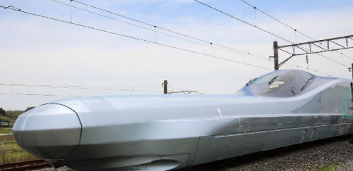 Japan tests next-generation bullet train