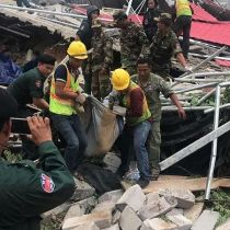 Cambodia building collapse kills 7