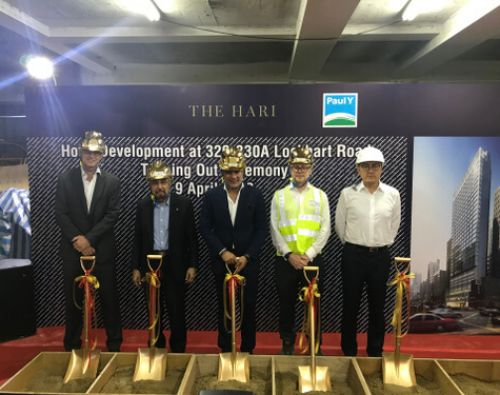 """Atkins-designed """"The Hari"""" hotel in Hong Kong topped out"""