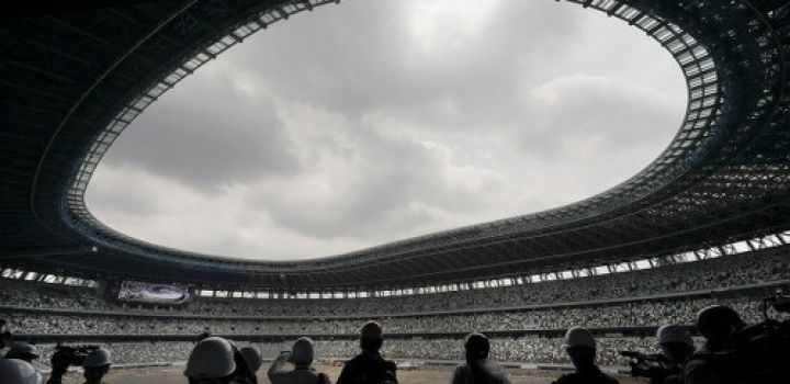 Construction of Tokyo Olympic stadium 90% complete set for December opening