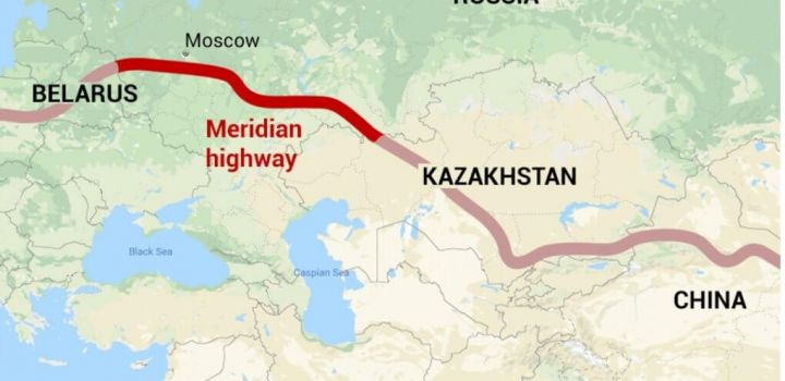 New Silk Road: Russia to build 2,000km highway linking Europe and China