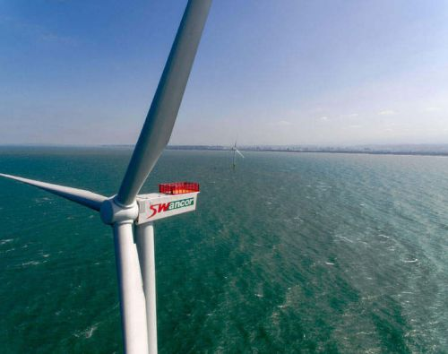 First offshore wind farm in Taiwan to be fully operational by end of year